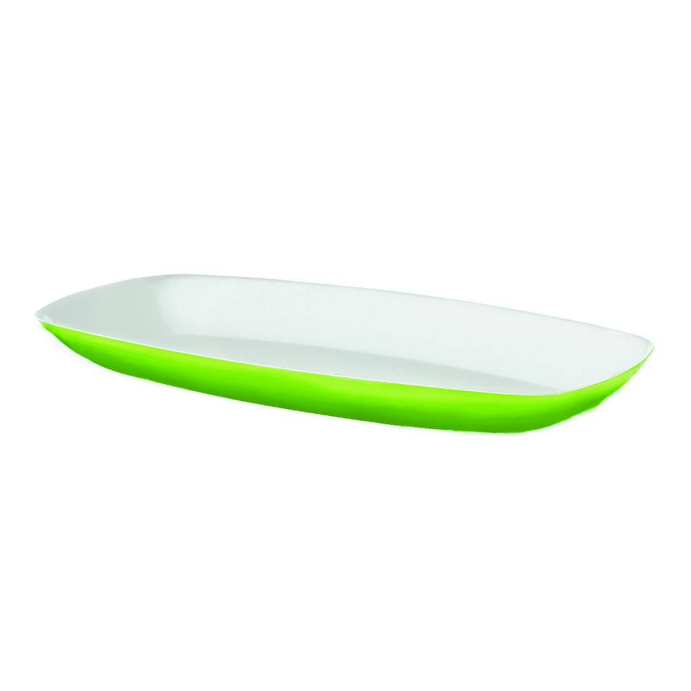 Vassoio da portata bicolore cm vintage colore verde guzzini stilcasa net vassoi - Vassoio da portata ...