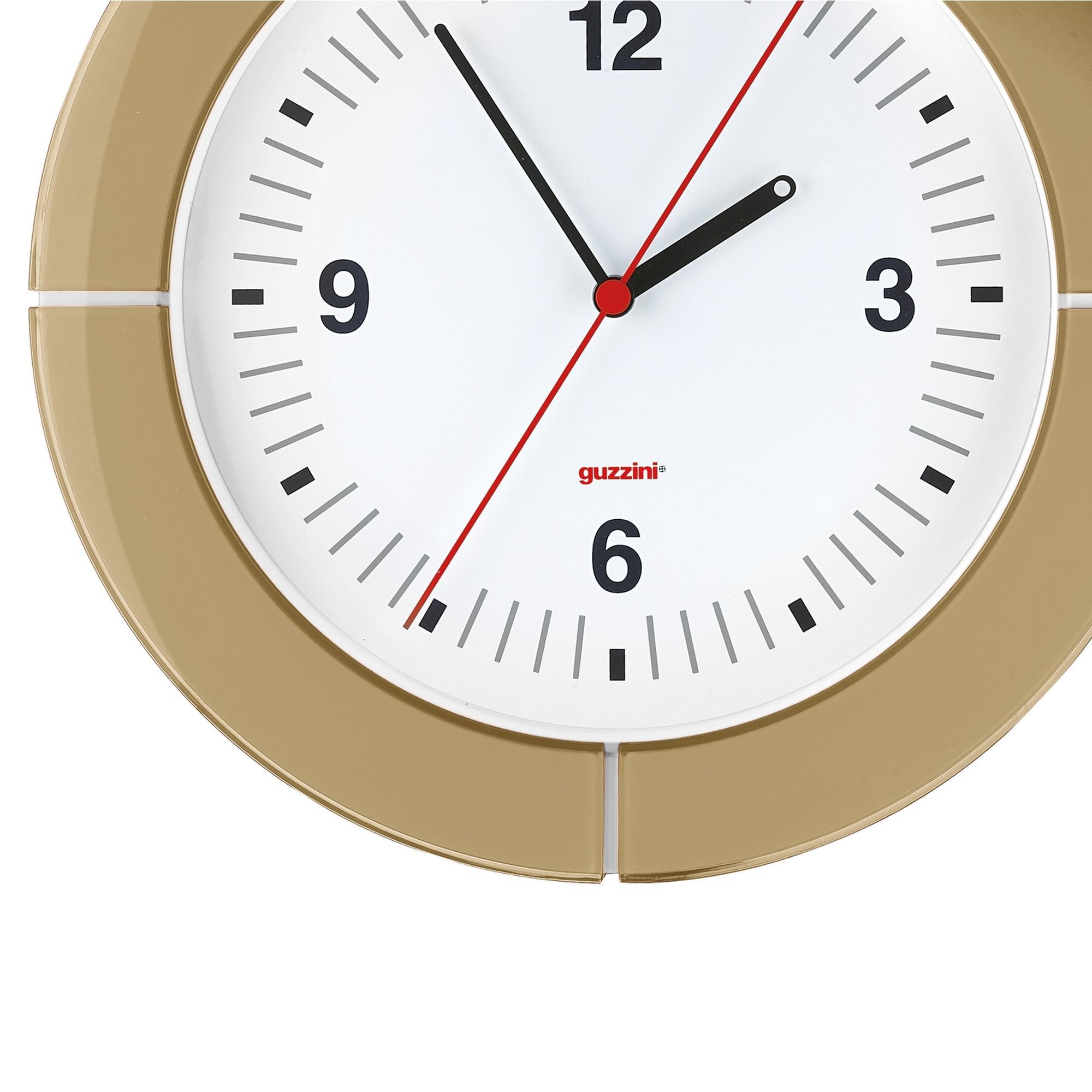 Orologio da Parete diametro 37xh4.9 cm I-Clock Sabbia   Guzzini ...