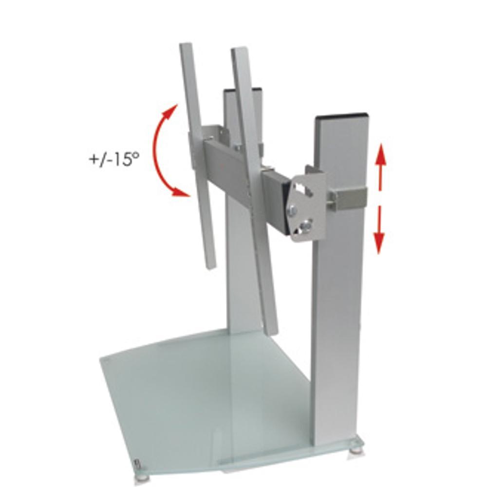 Base da tavolo per TV LCD da 20 a 42 Pollici 54x39xh40 cm portata ...