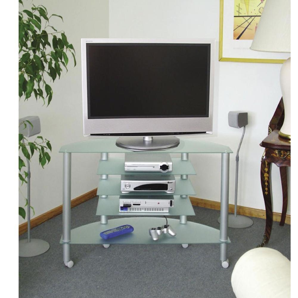 Porta Tv Lcd Vetro.Porta Tv Bella Vista 94 In Alluminio Anodizzato Plasma Da 29 Inch