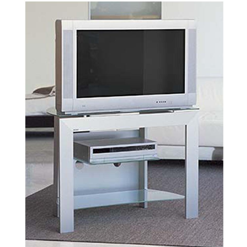 Porta tv cubo 88 in alluminio anodizzato portata max 100 - Ferri mobili recensioni ...