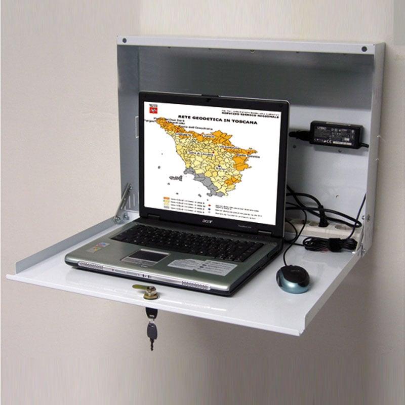 mensola porta computer : ... parete per PC LIM MONITOR Tecnidea Stilcasa.Net: Porta computer