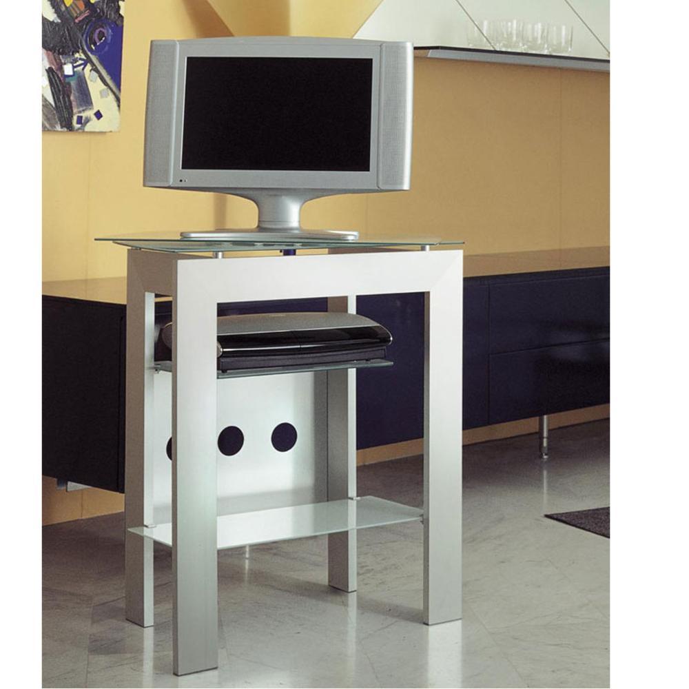 Porta TV Prisma Girevole in alluminio anodizzato Portata max 60kg ...