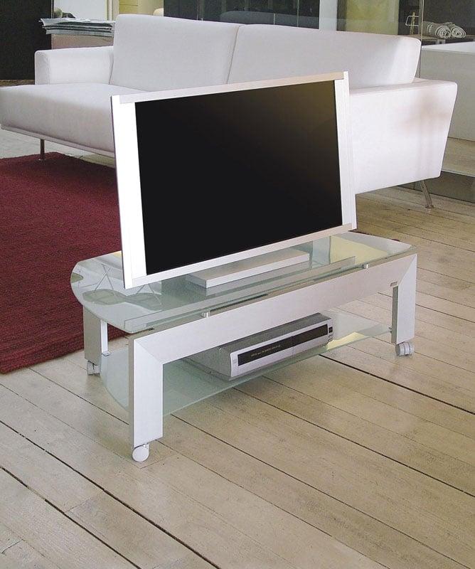 Porta tv quadro 33 in alluminio anodizzato plasma da 26 - Ferri mobili recensioni ...