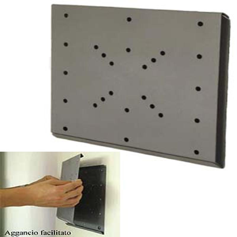 Staffa a parete per tv lcd attacco vesa 200 piastra fissa - Supporti per specchi a parete ...