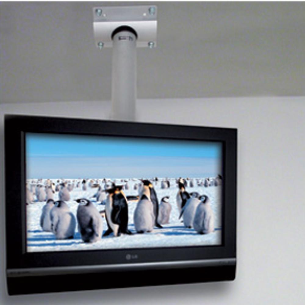 Porta Tv 42 Pollici.Staffa A Soffitto In Alluminio Per Lcd Plasma Led Da 14 A 42 Pollici Tecnidea