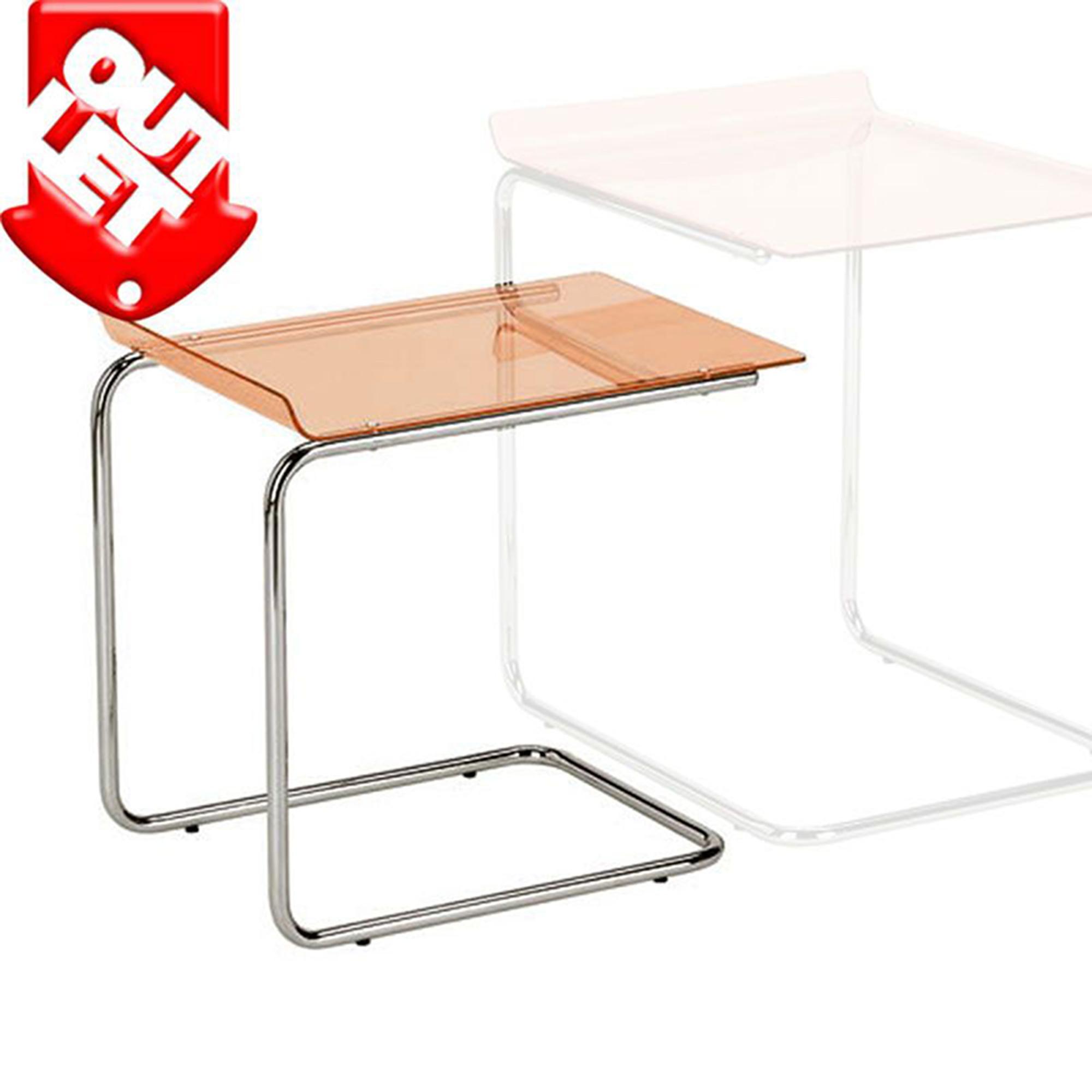 Tavolinetto basso duetto 49x33xh 46 cm struttura in for Tavolini piccoli da cucina