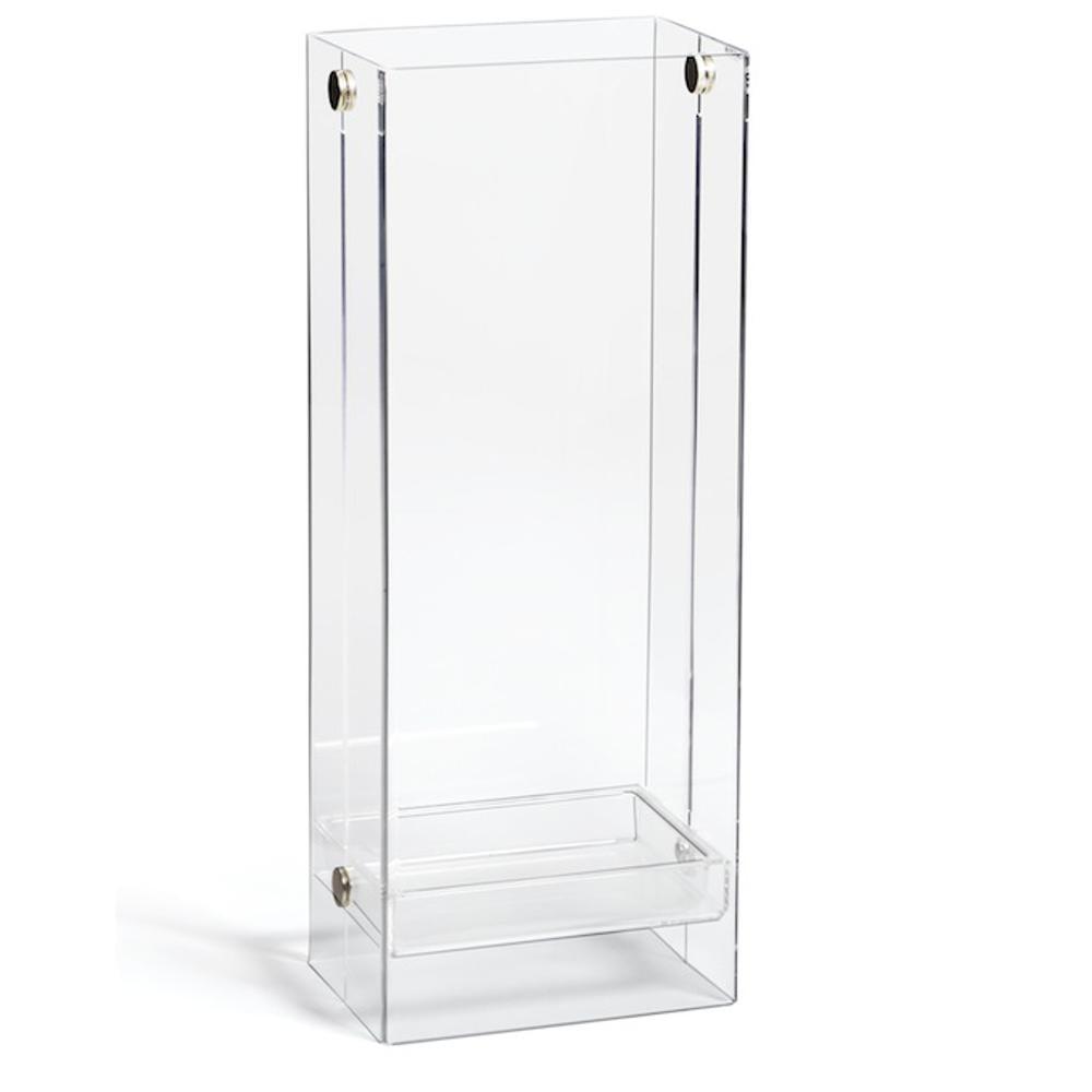 Portaombrelli in metacrialto trasparente 21x28xh65 cm - Portaombrelli design moderno ...