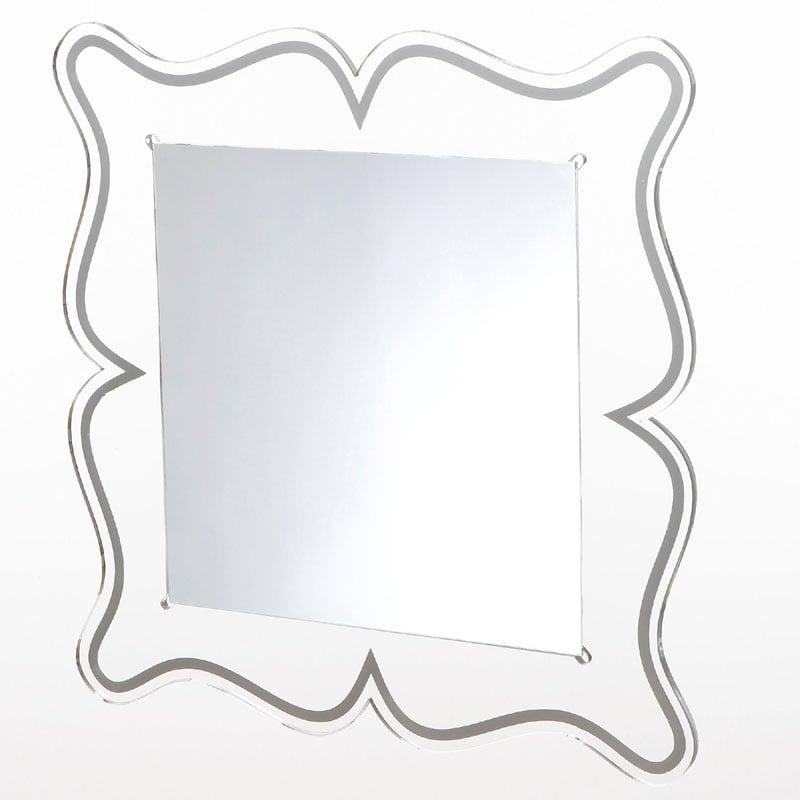 Specchio da muro 60xh60 cm spessore metacrilato 10 mm MAGICO quadrato ...