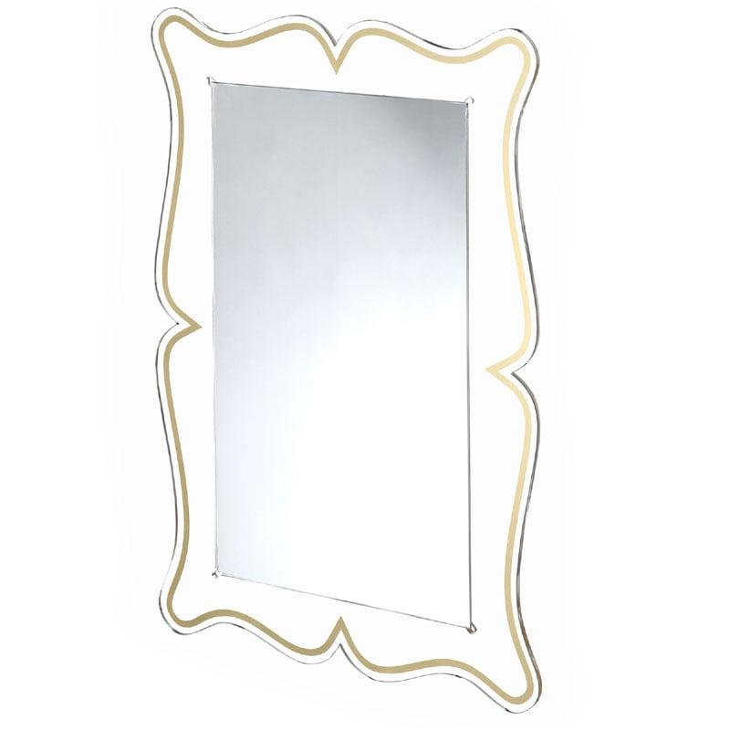 specchio a onda da muro : Specchio da muro 60xh90 cm spessore metacrilato 10 mm MAGICO ...