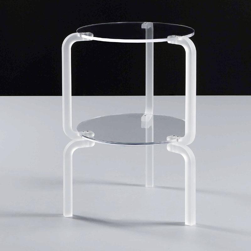 Comodino Metacrilato Trasparente Naif: Emporium naif tavolino tavolo basso in...