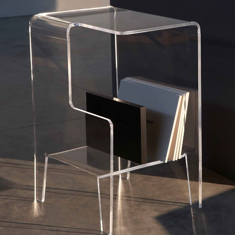 Tavolino multifunzioni 40x33xh60 cm glove sx tavolino - Tavolino comodino ...