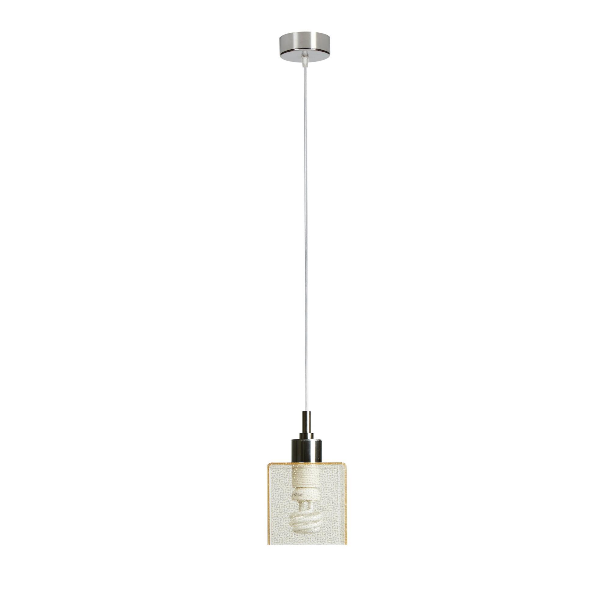 Lampadario da soffitto a sospensione 11x11xh18cm