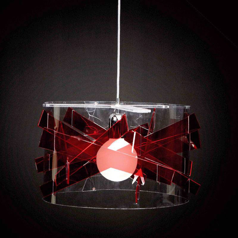 Risultati immagini per sospensione emporium bibang rosso
