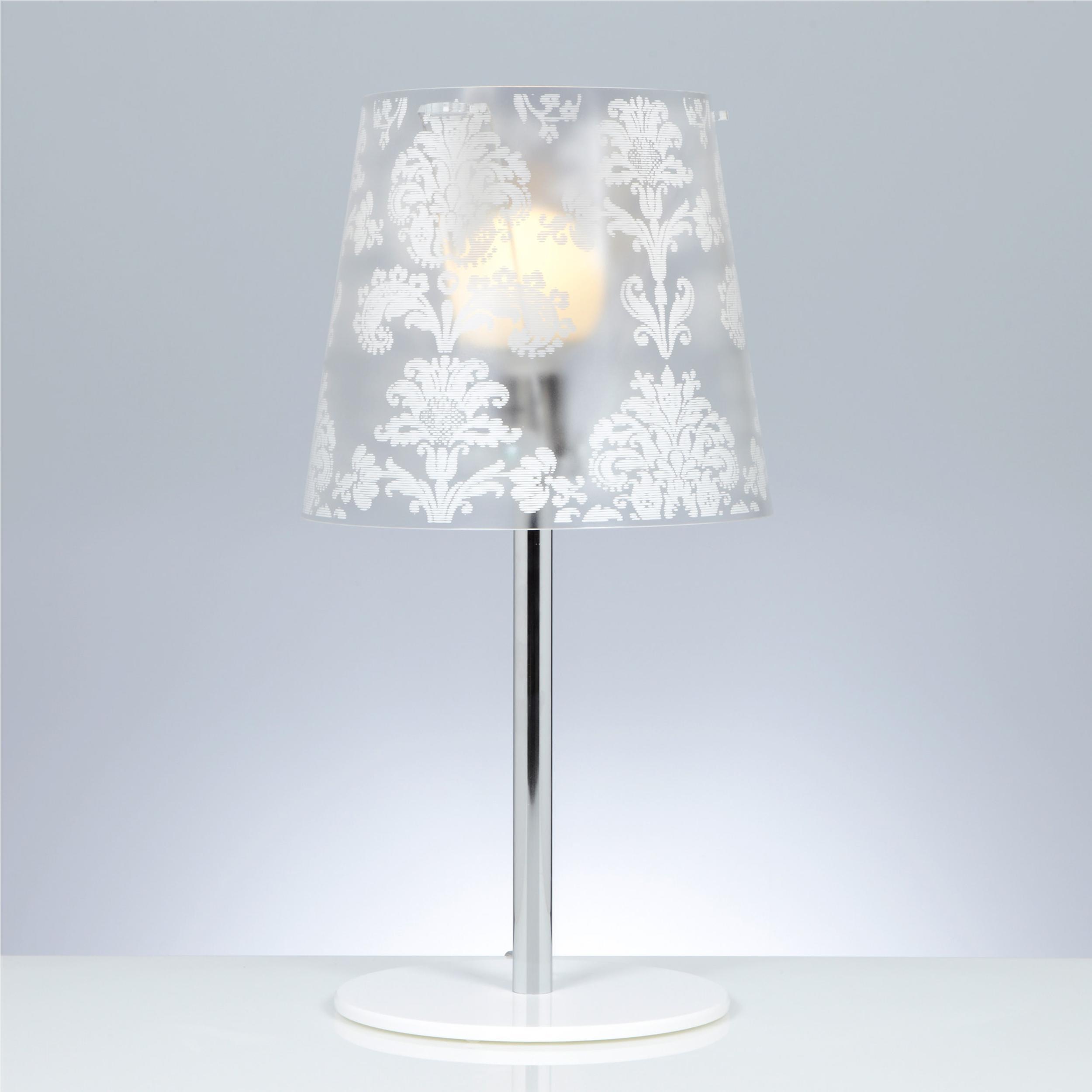 Lampada da tavolo abat jour diametro 31xh57 cm babette - Casa abat jour ...