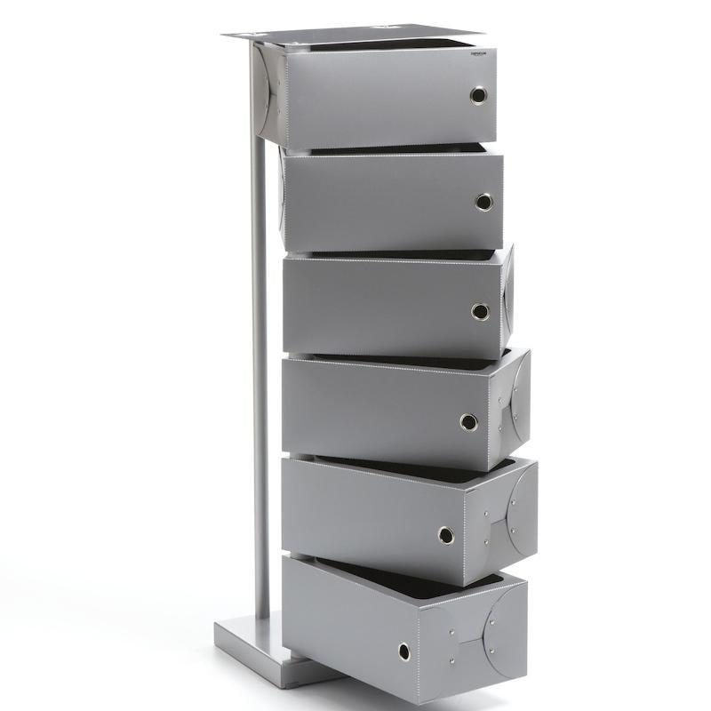 Scarpiera cassettiera fluida grigio cm - Schuhschrank porta ...