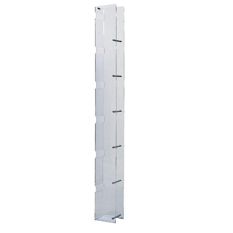 Porta 36 dvd toast con base 10 5x14xh125 in metacrilato - Porta dvd in legno ...