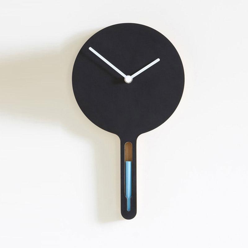 Orologio lavagna tablita piccolo appendere al muro o for Lavagna con orologio thun