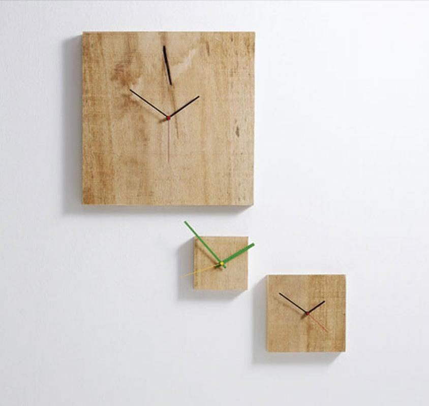 Orologio da parete Grande Nature 48x3x48 cm con cassa in legno massello in ajus  Diamantini e ...
