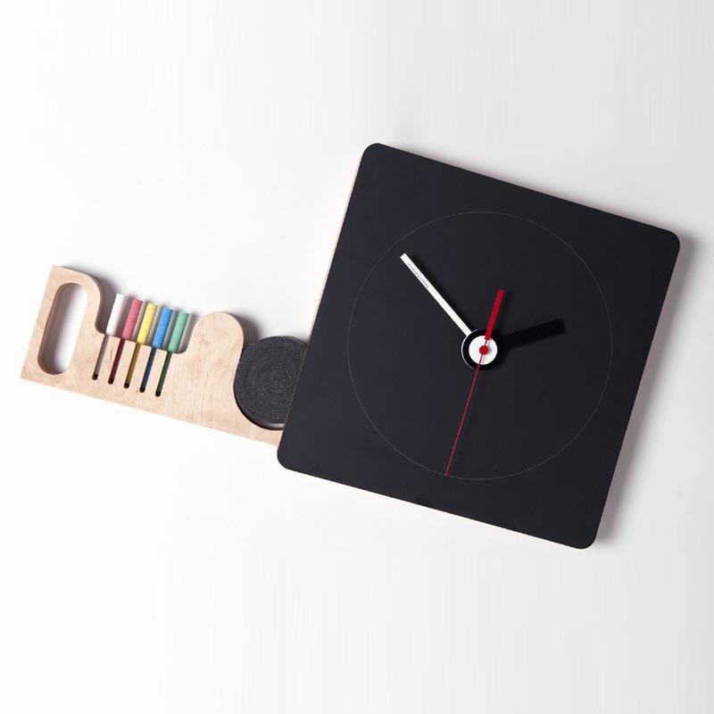 Orologio lavagna tabla piccolo diamantini e domeniconi for Lavagna con orologio thun