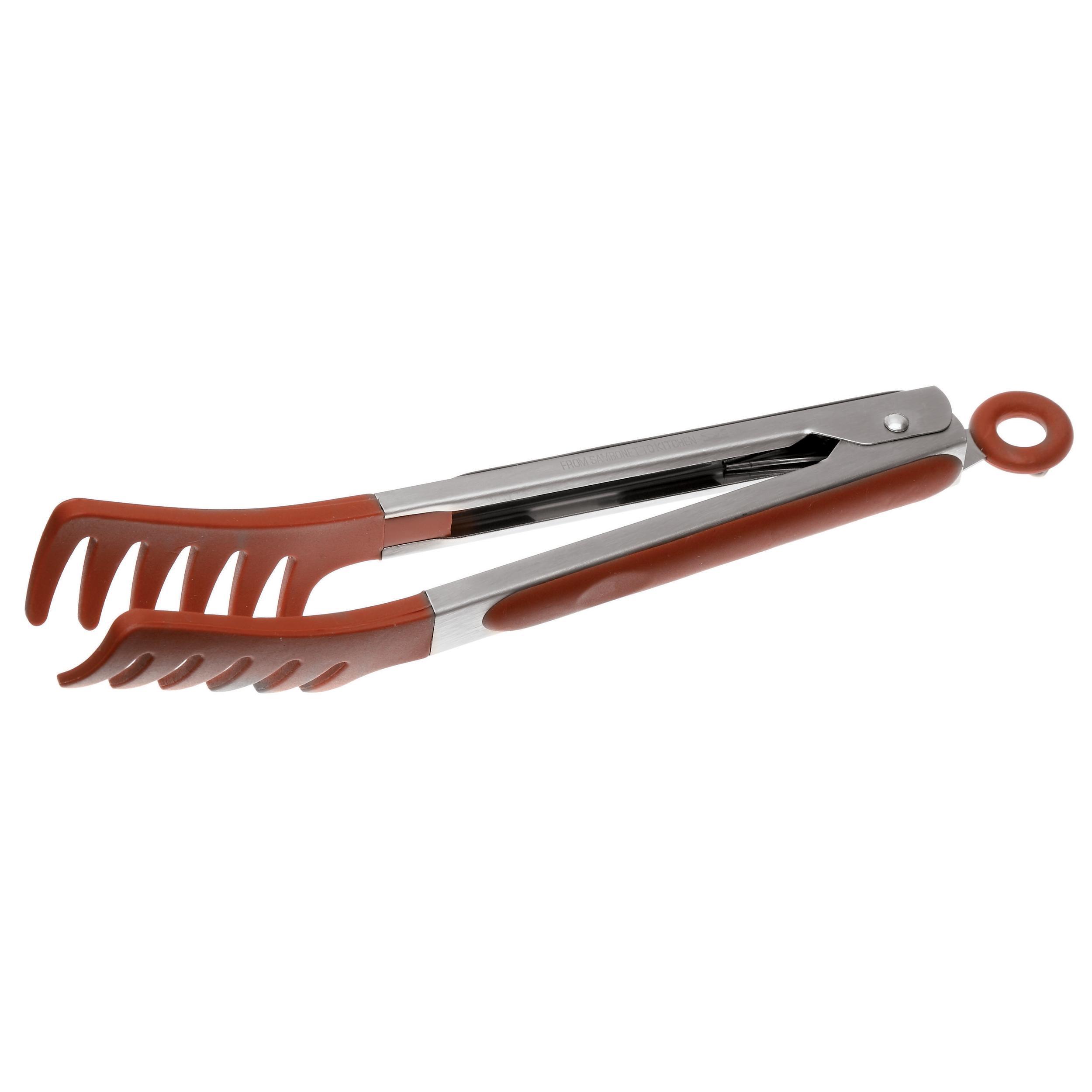 Silicone Sambonet Gadgets Cucchiaio Forato Rosso