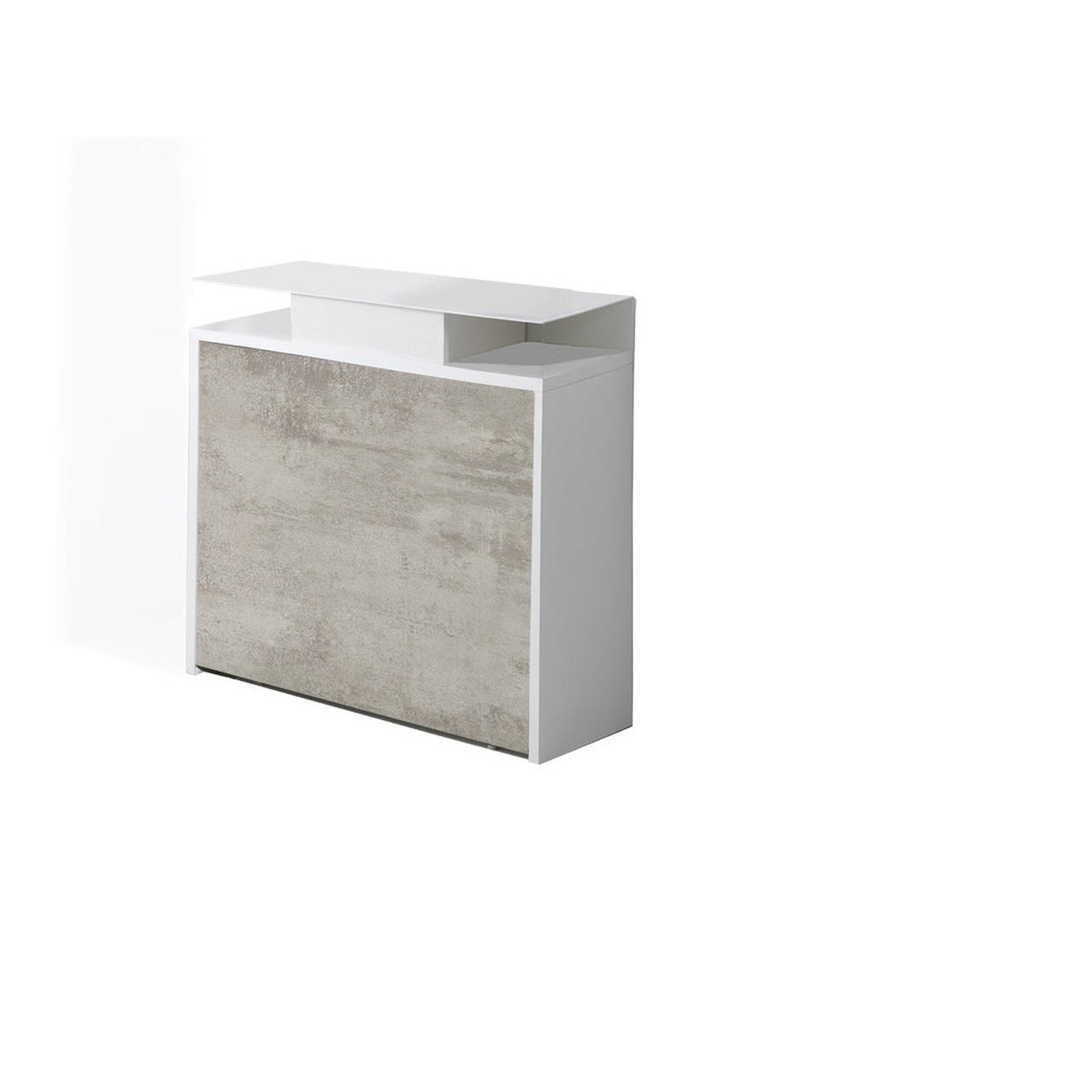 Consolle con cassetto archimede 96x36xh88 cm pi tavolo for Tavolo piu sedie