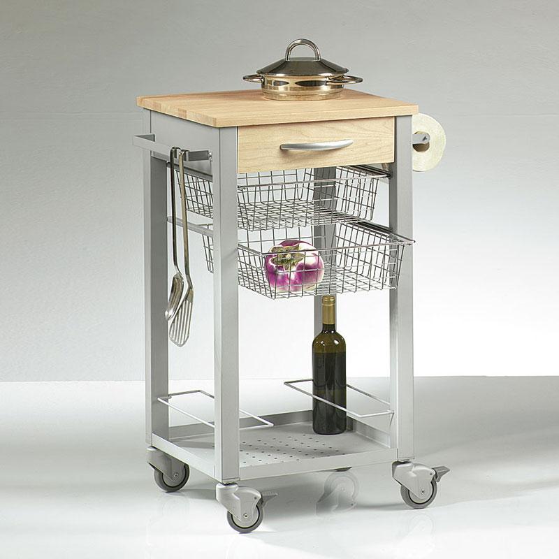 Casa immobiliare accessori carrelli acciaio cucina - Mobilya megastore ...