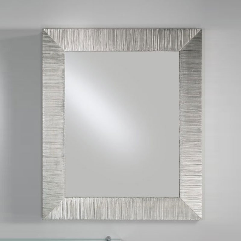 Specchiera rettangolare DIVA 85xh102 cm con cornice in legno ...