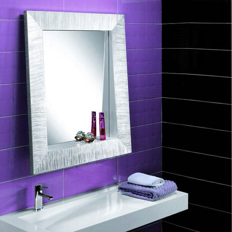 Specchio con mensola integrata pezzani srl stilcasa - Specchio con mensola ...