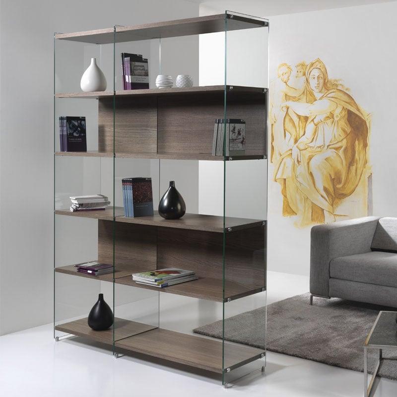 Libreria componibile modulare byblos composizione 4 for Design per la casa in metallo