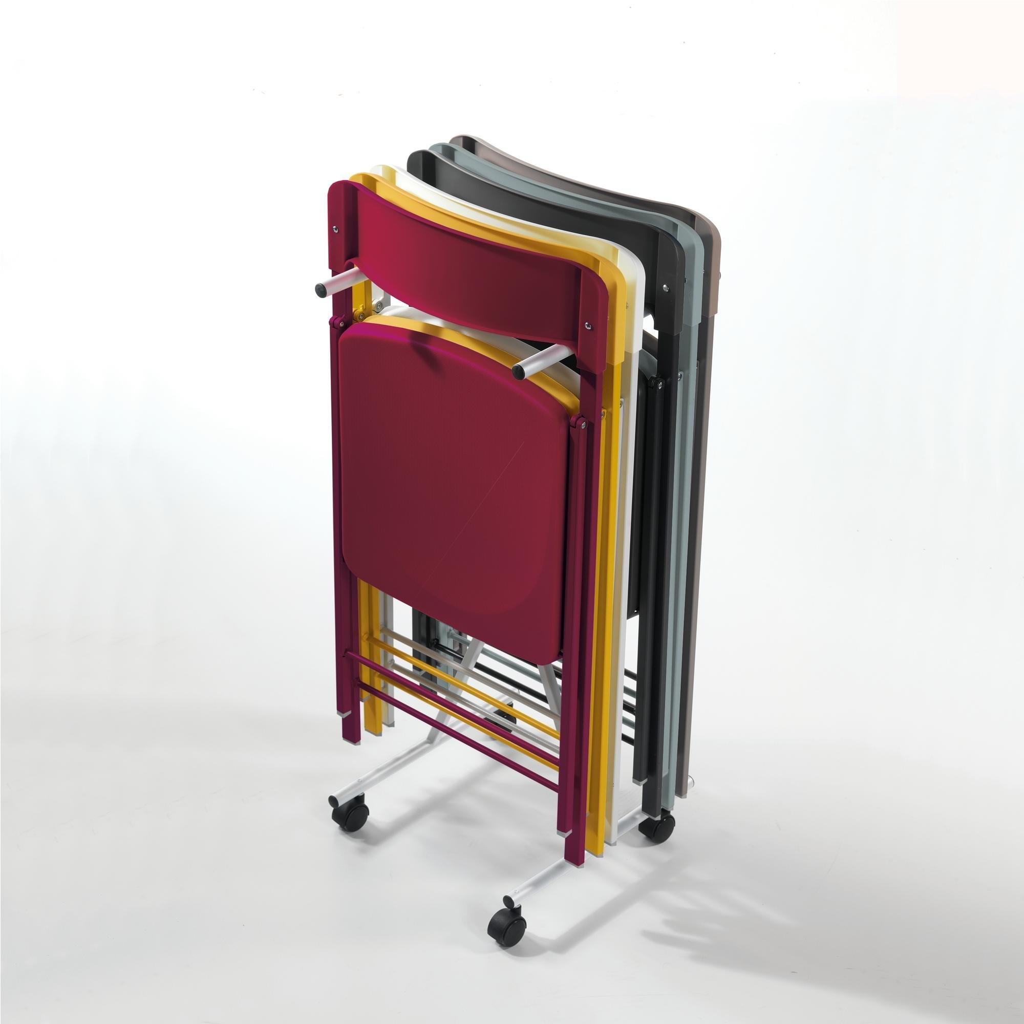 Carrellino porta sedie per sedie richiudibili se01 for Sedie richiudibili