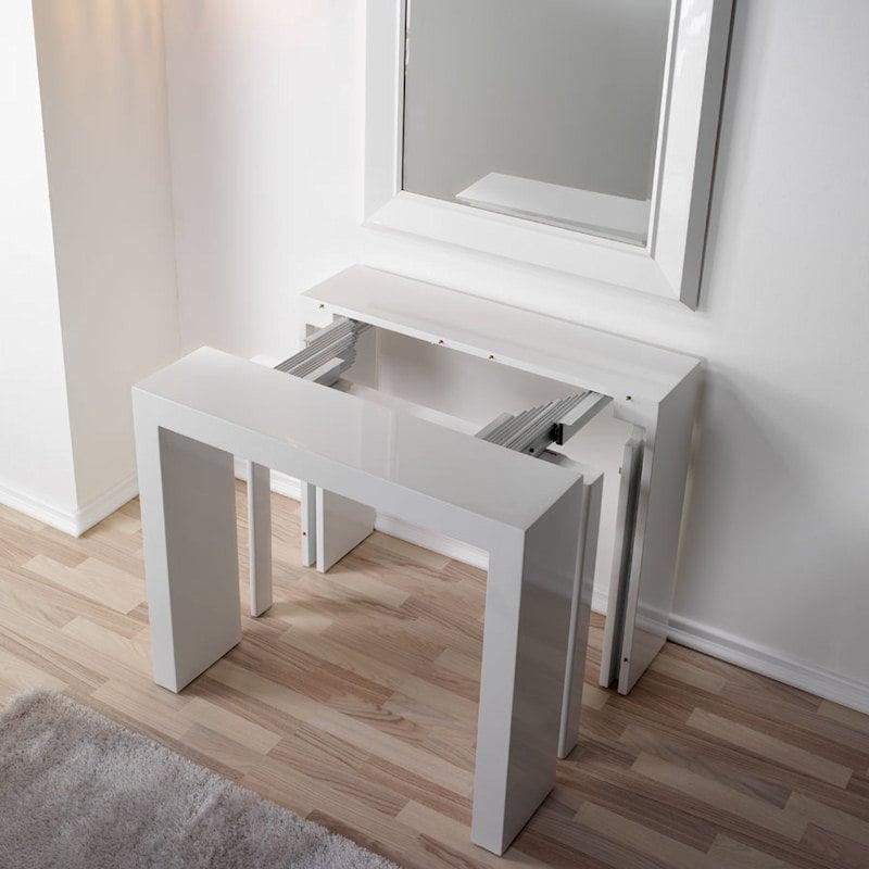 Tavolo consolle allungabile 225l pezzani srl stilcasa for Ikea tavolo consolle allungabile