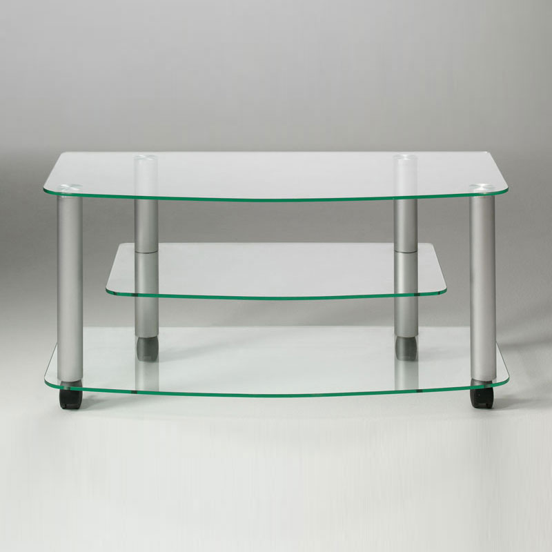 Carrello porta tv03 90x40x43h cm ripiani in vetro - Ferri mobili recensioni ...
