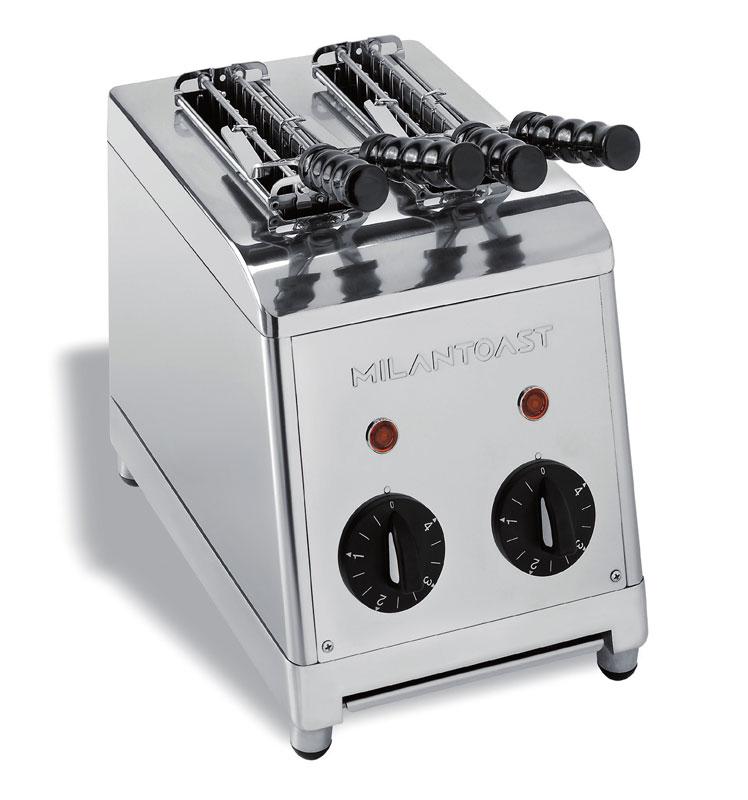 Tostapane a 2 Pinze Milan Toast ideale per sandwiches Con timer di ...