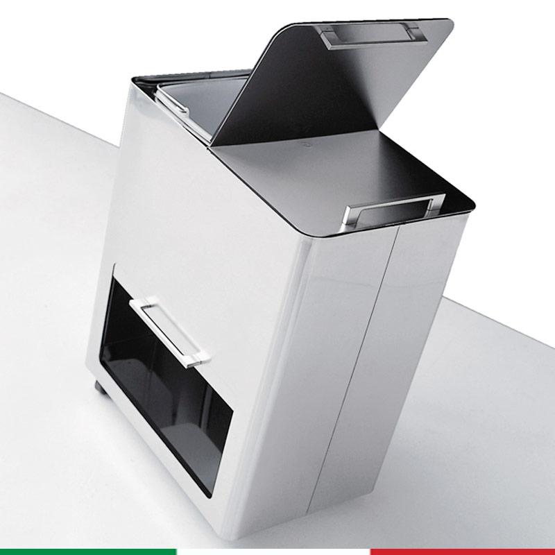 Bidone pattumiera 55x36xh69 cm l58 per la raccolta - Contenitori raccolta differenziata per casa ...