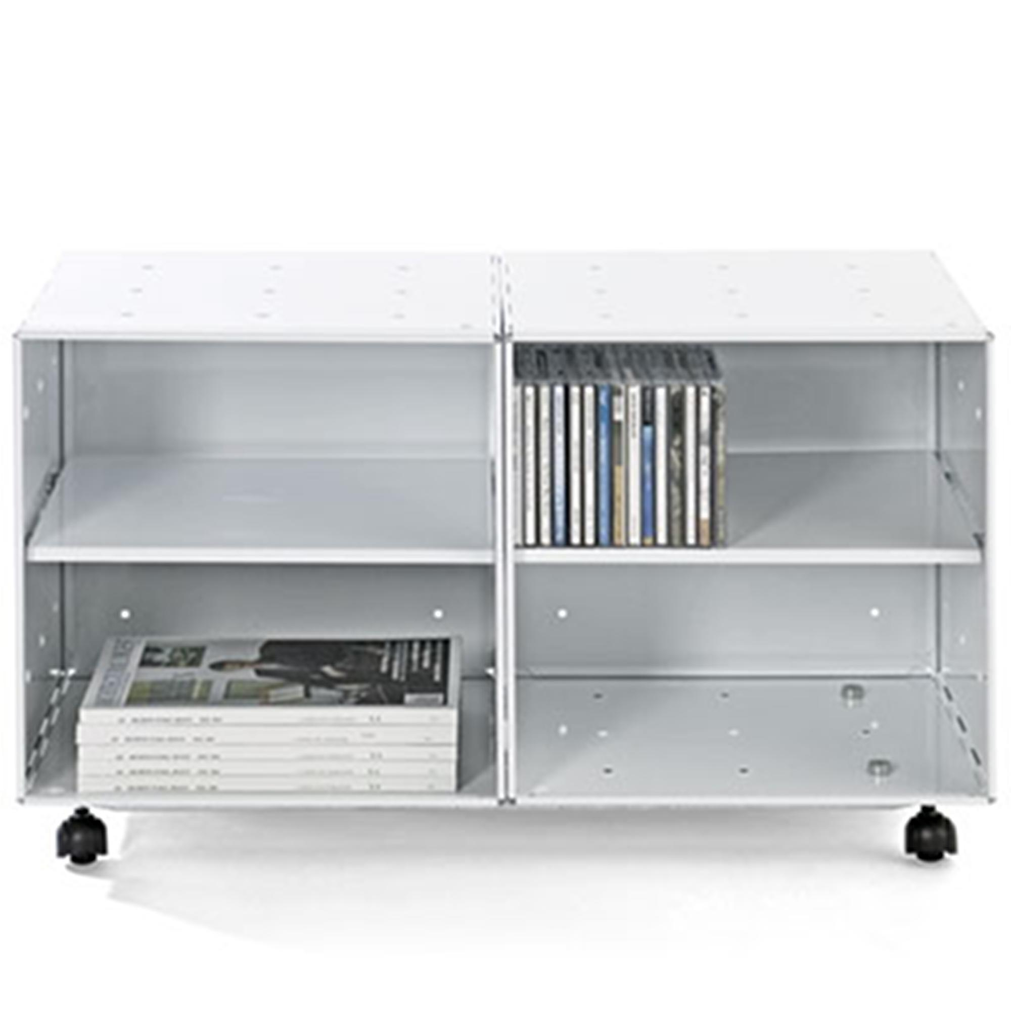 Mobile basso libreria bagno o cucina studio qbo 2 moduli - Mobile cucina bianco ...