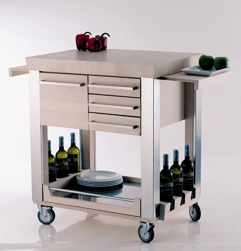 Carrello Cucina Astoria | Legnoart