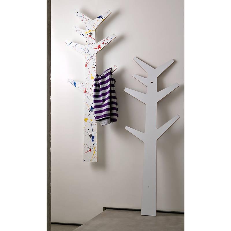 Porta abiti appendiabiti albero edward makkia fissaggio a - Porta abiti da camera ...