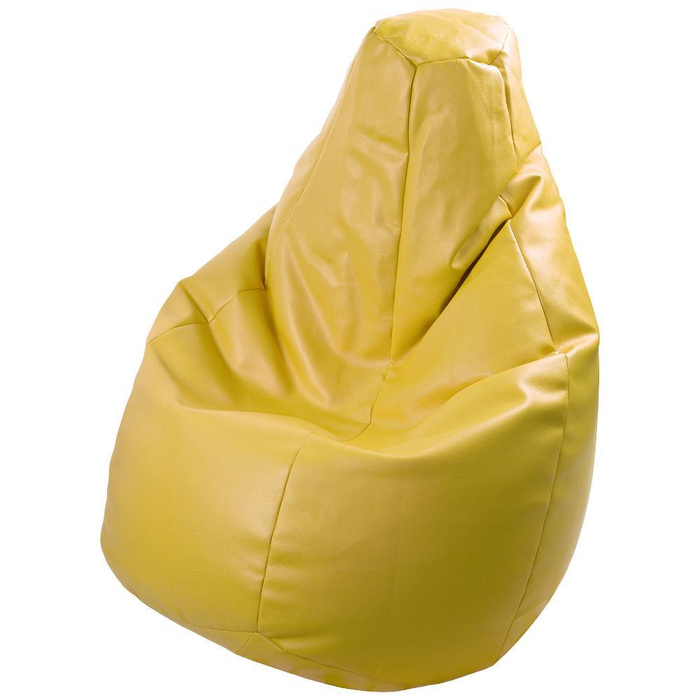 Poltrona a sacco Lolita Ecopelle Colore Giallo polistirolo non incluso  Crea...