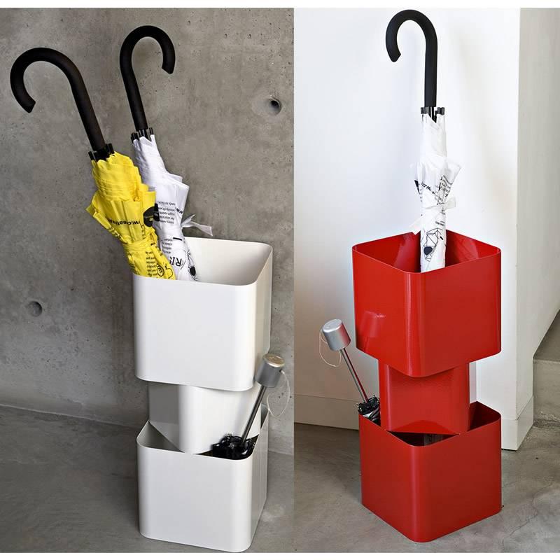 Portaombrelli in metallo verniciato thor 22x22xh 54 cm colore rosso creativando stilcasa net - Ikea portaombrelli ...