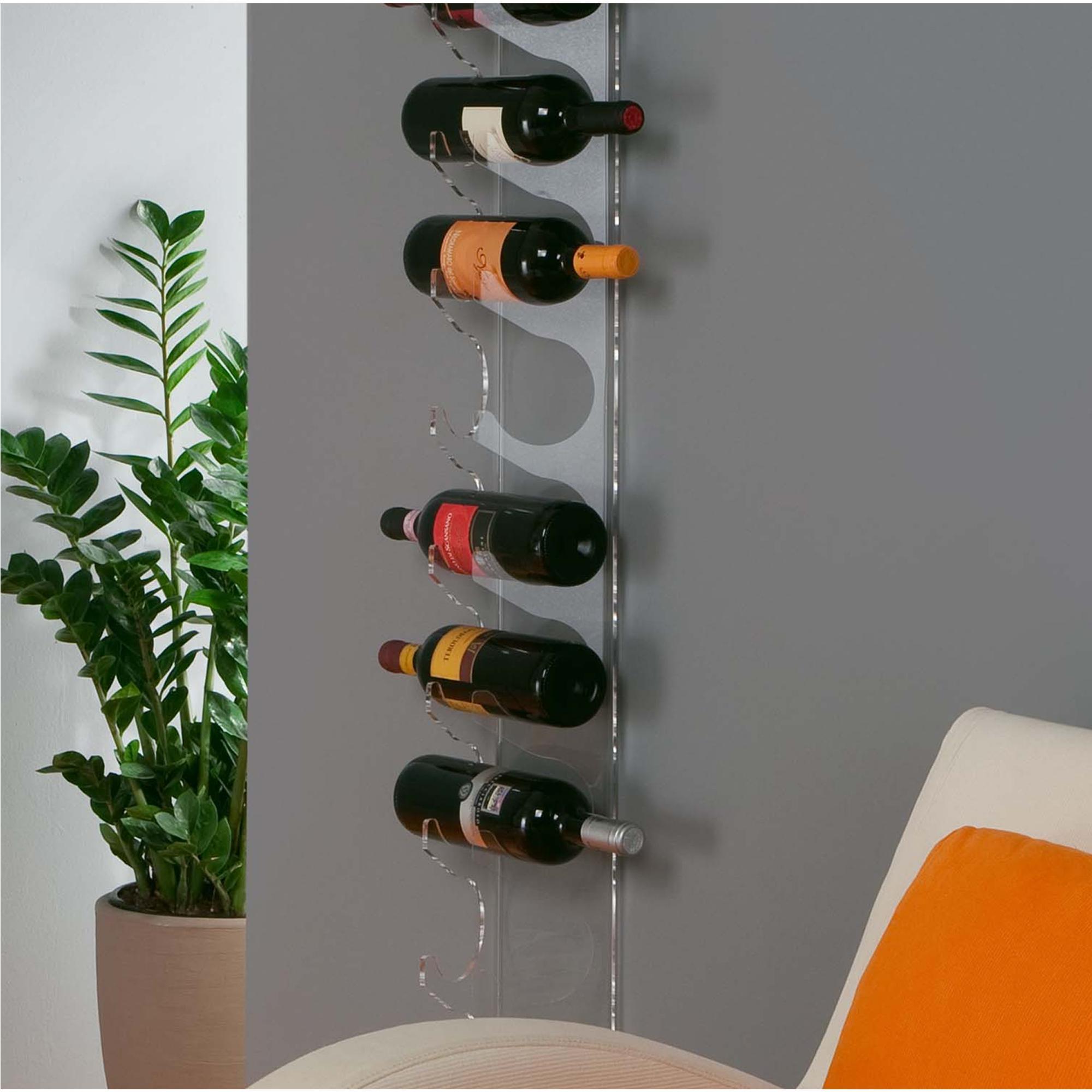 Porta vino da muro sei sedi with porta vino da muro a - Porta vino ikea ...
