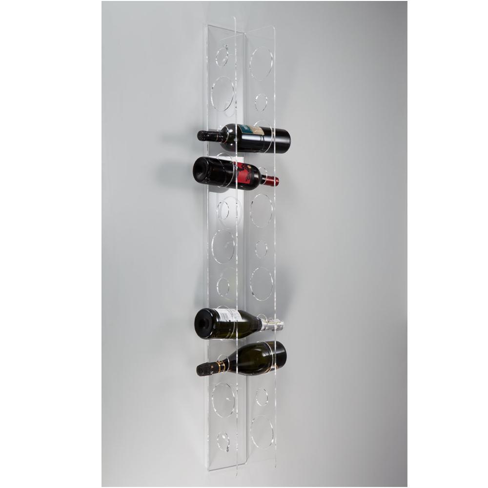 Portavino da parete 16 5x14xh125 cm 11 bottiglie eno big for Porta bottiglie vino
