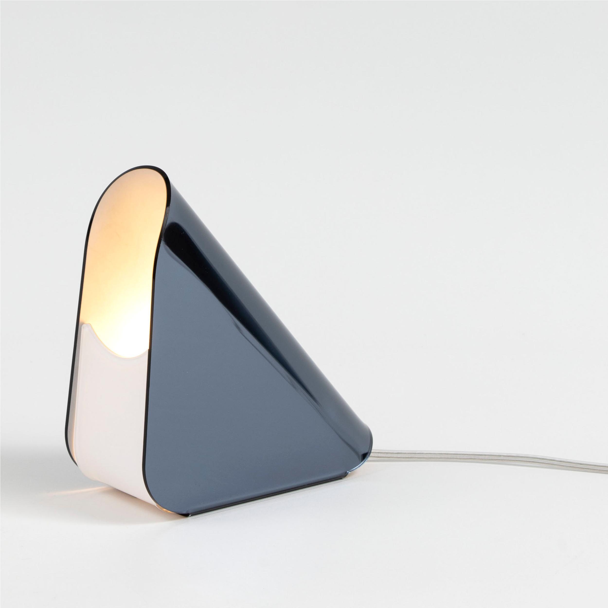 Lampada da tavolo in cristallo acrilico