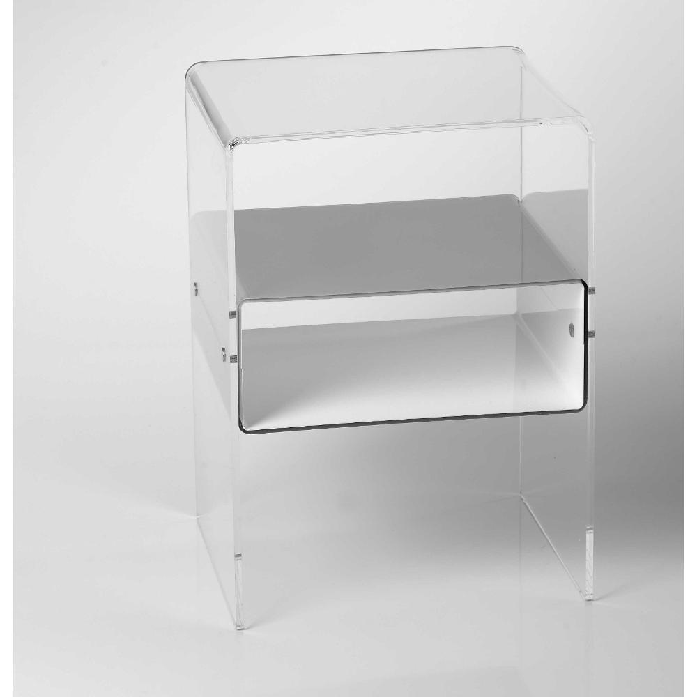 comodini plexiglass - 28 images - comodino in plexiglass ...