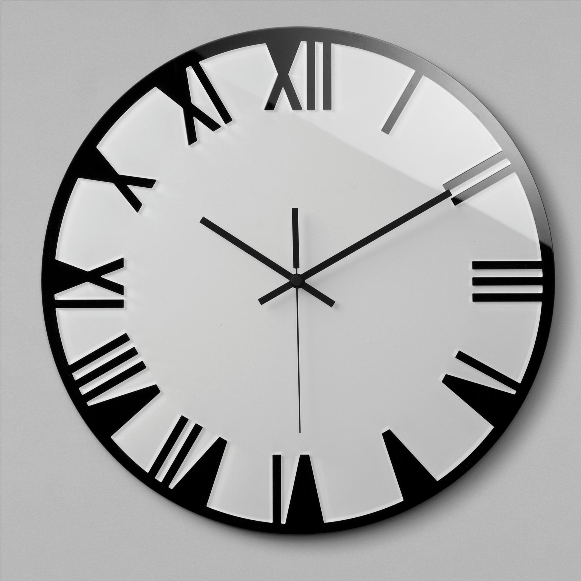 Orologio da parete movimento al quarzo ROMA Big Ø60x2,5 in plexigas bicolore ...