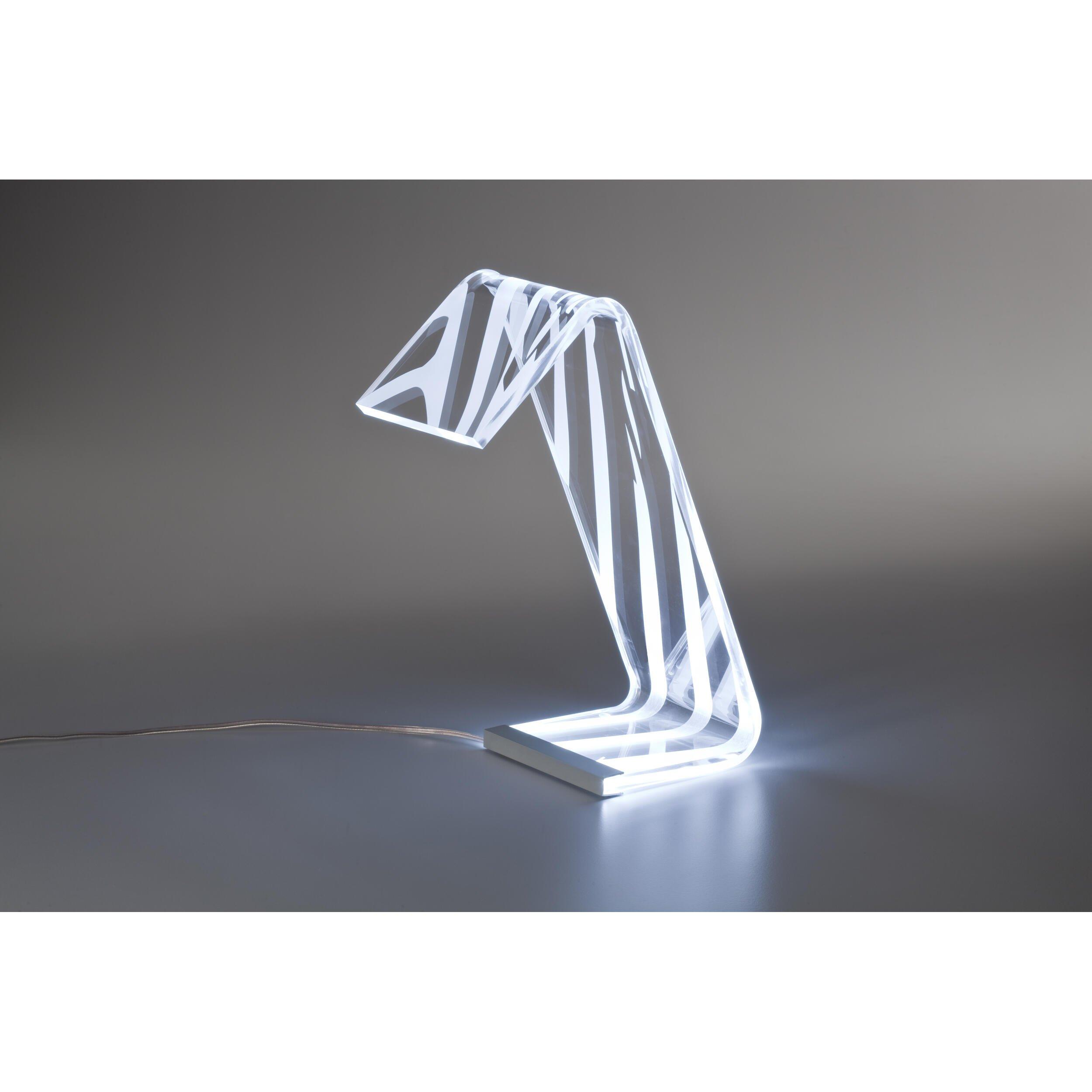 Lampda da Tavolo in plexi bicolore C-LED 13,5x24x34h cm ...