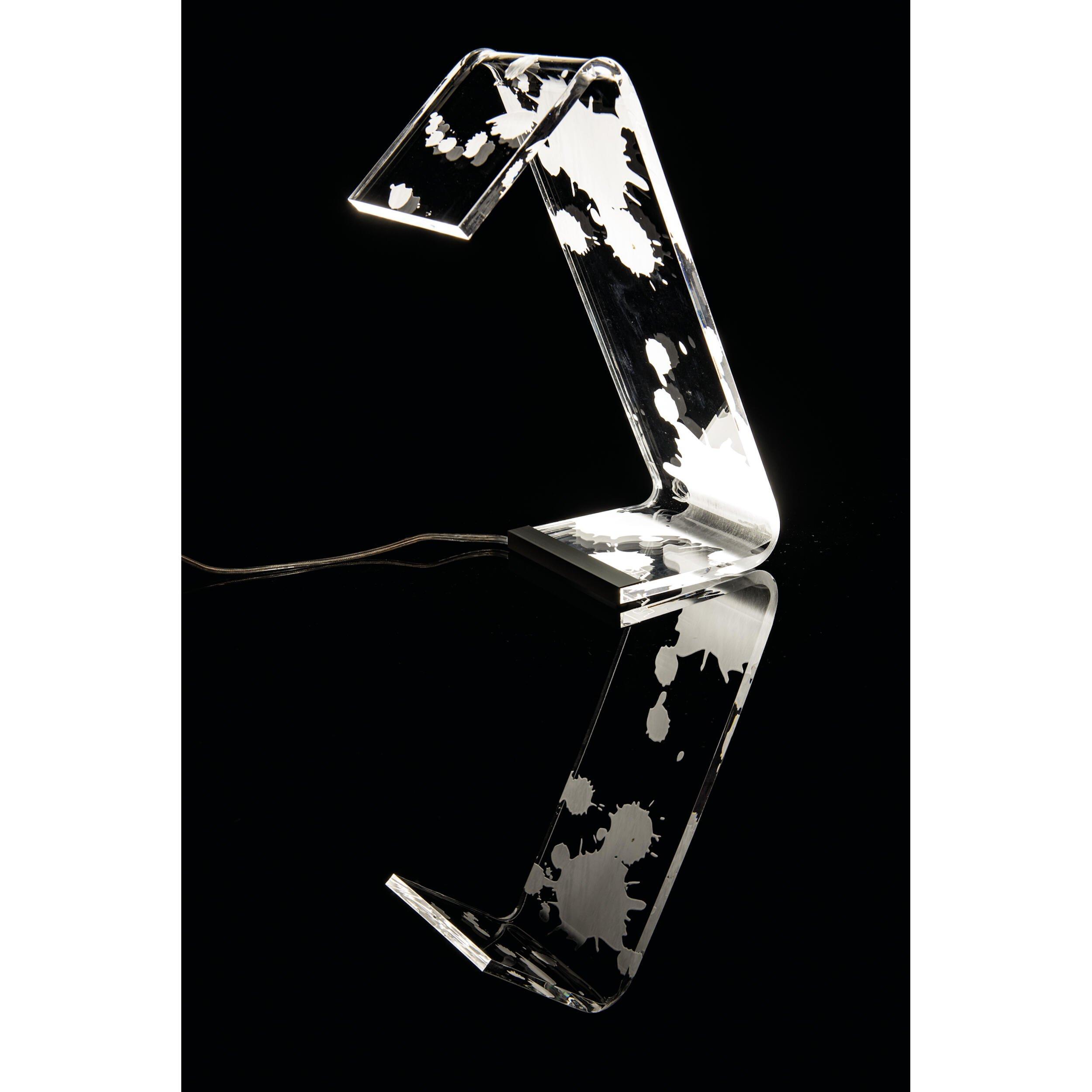 Lampada da Tavolo in plexi bicolore C-LED 13,5x24x34h cm Macchia  Vesta  Stilcasa.Net: lampade ...