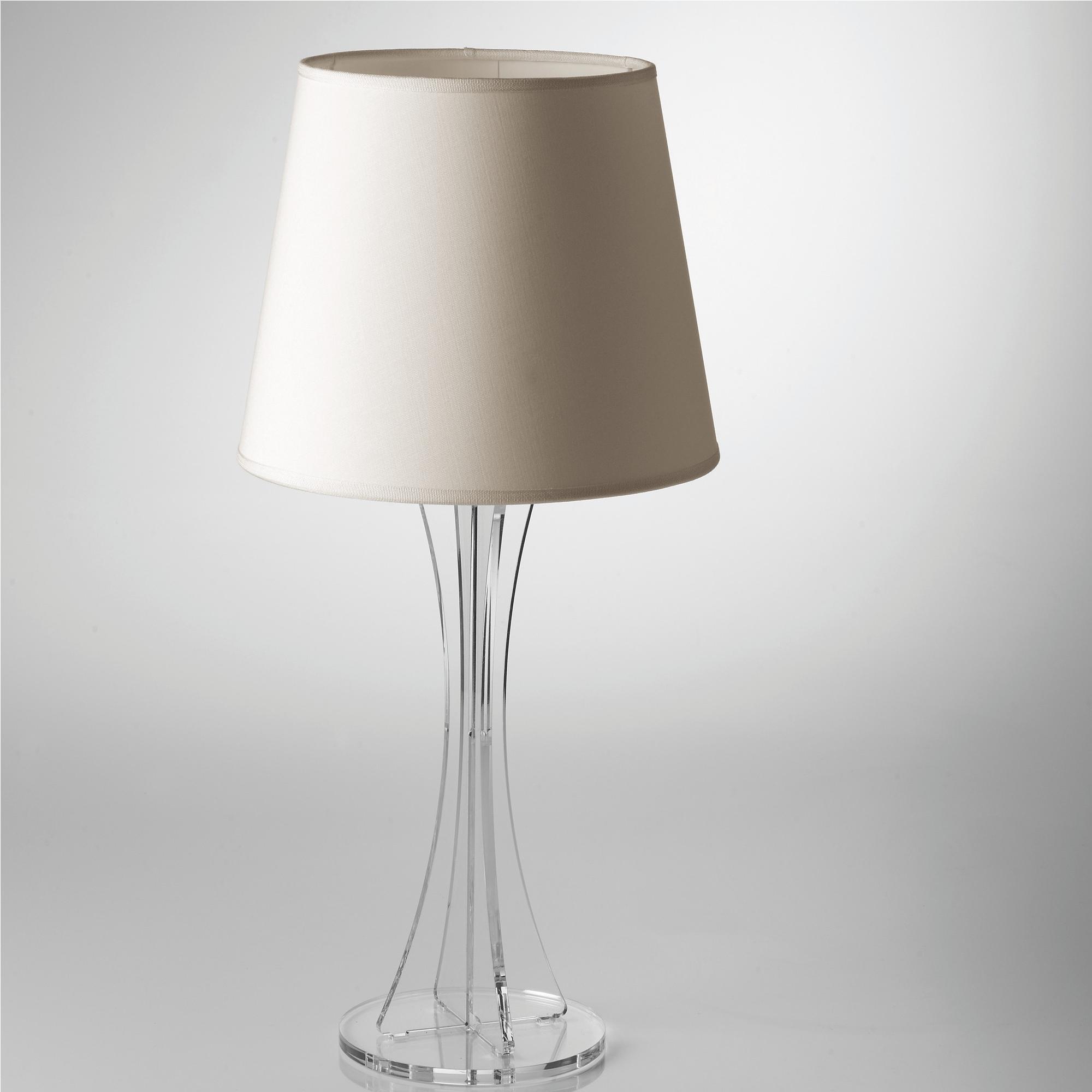 Lampada da tavolo sky grande supporto in plexiglas - Lampade da tavolo in plexiglass ...