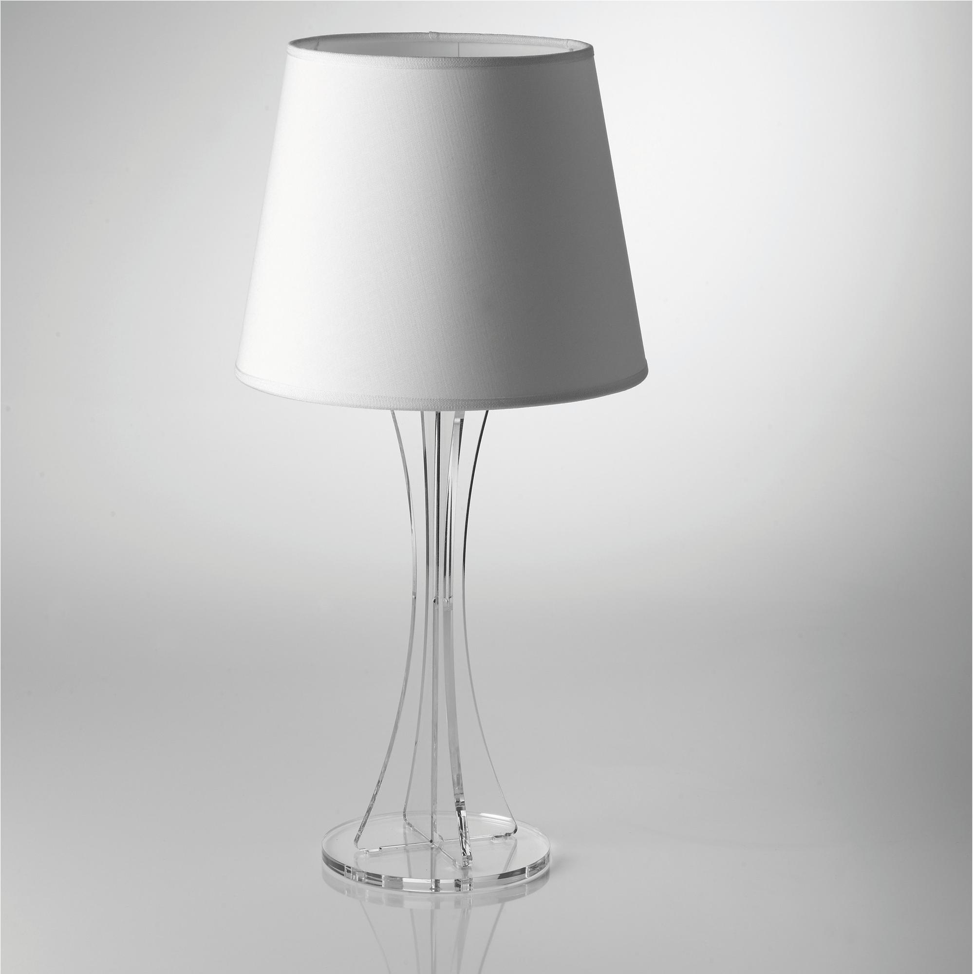 Lampada da tavolo sky grande supporto in plexiglas for Lampada da tavolo grande