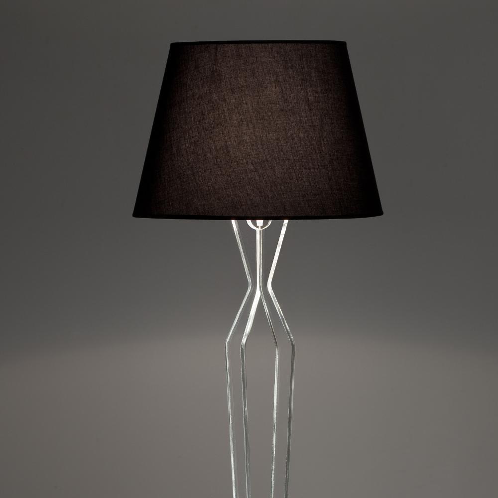 Lampada a Piantana ANASTASIA Ø50xh181 cm supporto in plexiglas ...
